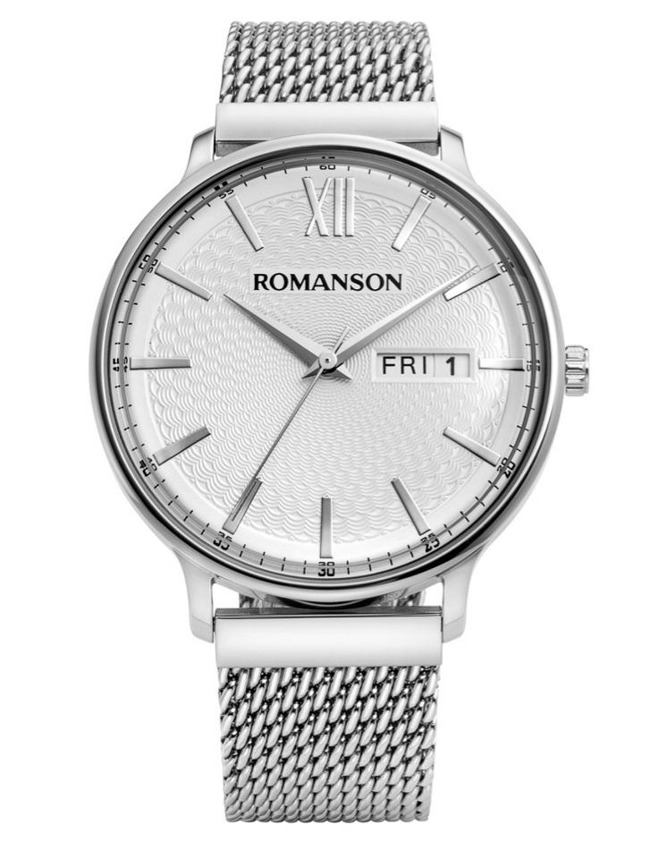 e47adbc1 Наручные часы Romanson TM 8A49M MW(WH)- купить по цене 42200.0 в ...