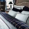 Постельное белье 2 спальное евро Casual Avenue Toscana слоновая кость с красной вышивкой