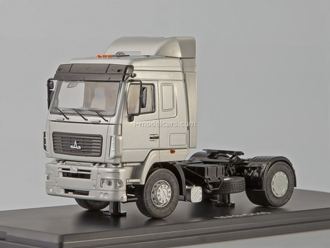 MAZ-5440 road tractor silver-metallic 1:43 Start Scale Models (SSM)