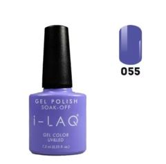 Гель лак для ногтей I-laq  055, 7,3 мл.