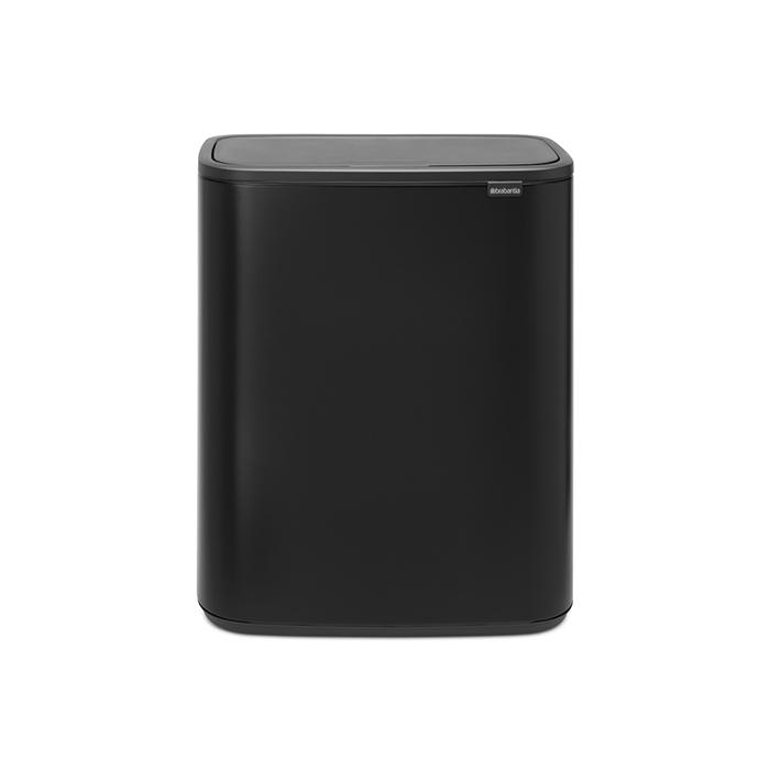 Мусорный бак Touch Bin Bo (60 л), Черный матовый, арт. 223020 - фото 1