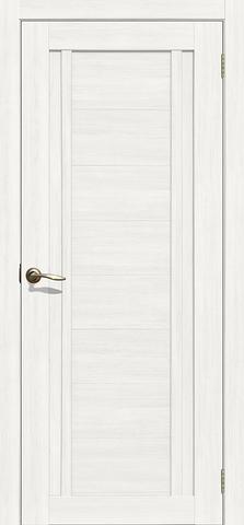 Дверь La Stella 204, цвет ясень снежный, глухая