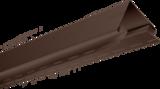 Планка Угол наружный Альта Профиль Темный Орех 3,05м