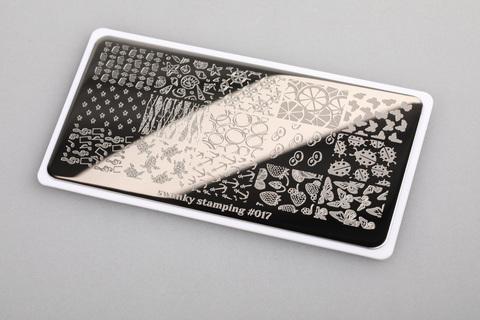 Пластина Swanky Stamping 017