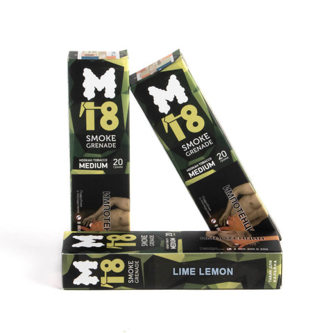 Табак M18 Medium Lime Lemon (Лайм Лимон) 20 г