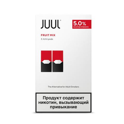 Картриджи JUUL Фруктовый Микс 5% 2 шт
