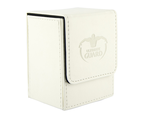 Ultimate Guard - Белая кожаная коробочка