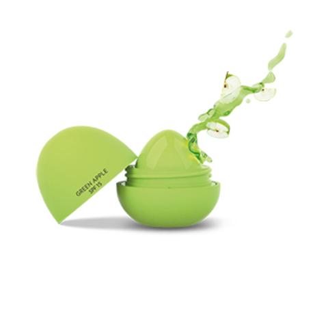 GR Бальзам-масло для губ тон  GREEN APPLE LIP BUTTER