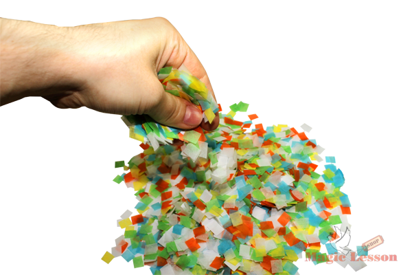 Цветное конфетти