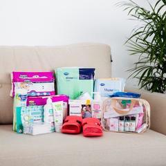 Готовая сумка в роддом для мамы и малыша КОМФОРТ фото 3