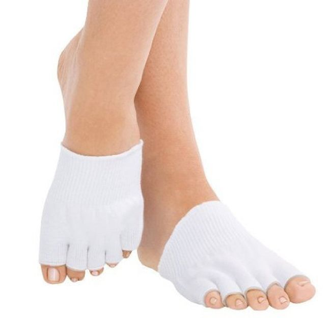 Увлажняющие гелевые носочки «5 пальцев»
