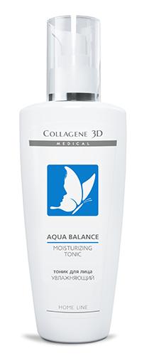 Тоник AQUA BALANCE с гиалуроновой кислотой и фруктовыми кислотами, Medical Collagene 3D