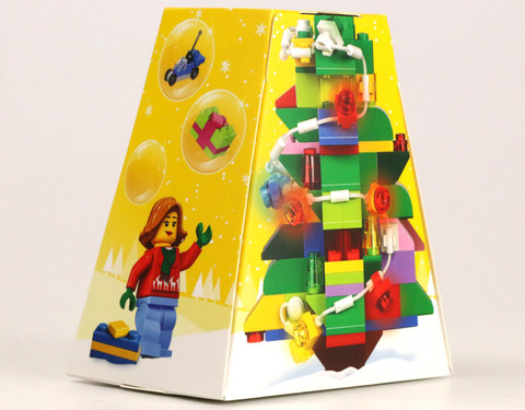 LEGO Seasonal: Рождественский орнамент 5004934 — Christmas Ornament — Лего Времена года