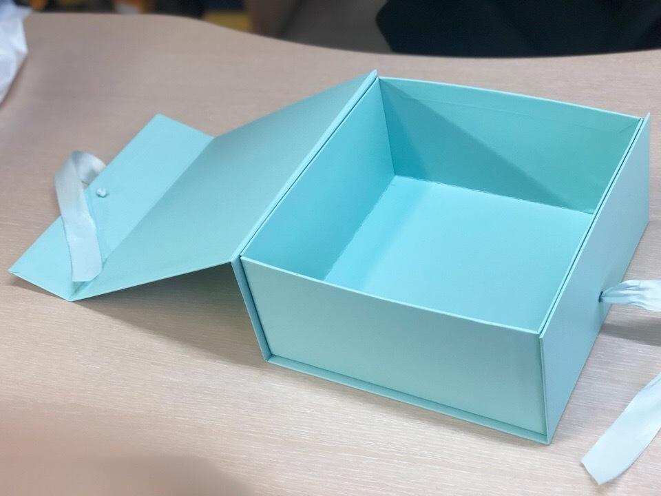 Коробка сундучок светло изумрудный .  Розница 300 рублей
