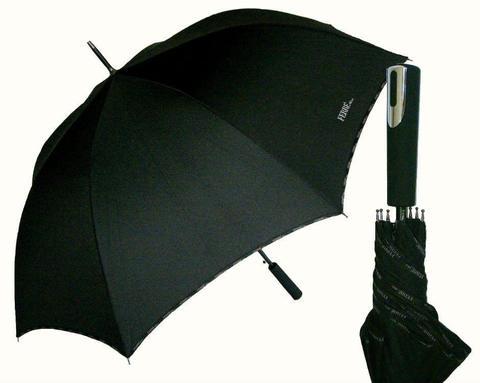 Купить онлайн Зонт-трость Ferre GF-LA3013-Golf Nero piping в магазине Зонтофф.