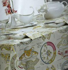 Скатерть 170x260 и 12 салфеток Mirabello Pottery белые