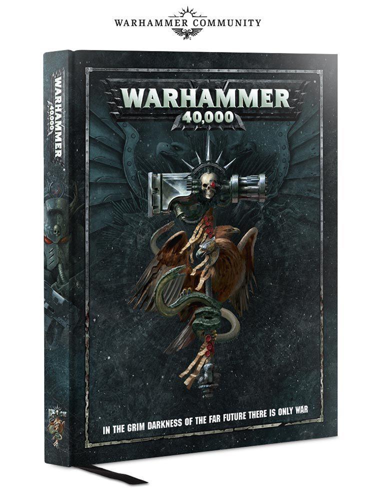Warhammer 40,000 Rulebook. 8 редакция. Обложка