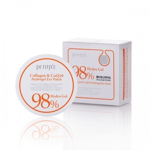 Гидрогелевые патчи с коллагеном Petitfee Collagen & Co Q10 Hydrogel Essence Eye & Spot Patch
