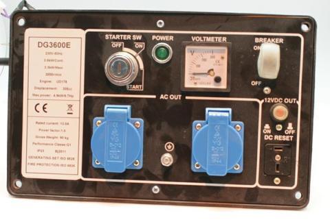 Панель контрольная DDE DG3600 -->YDA