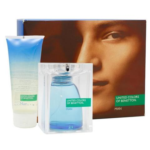 United Colors of Benetton Man - SET (EDT 125 ml + S/G 200 ml)