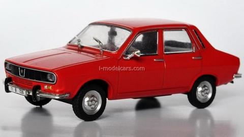 Dacia 1300 red 1:43 DeAgostini Masini de legenda #1