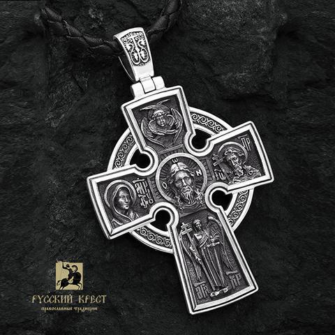 Большой православный крест. Спас Нерукотворный. Николай Чудотворец