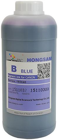 Чернила DCTec iPF6400/iPF8400 Blue (B) 1000мл пигмент (серия 193640)