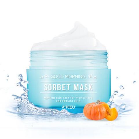 Утренняя увлажняющая маска-сорбет для лица A'Pieu Good Morning Sorbet Mask