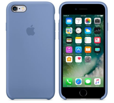 iPhone 6/6s Silicone Case  Светло Синий
