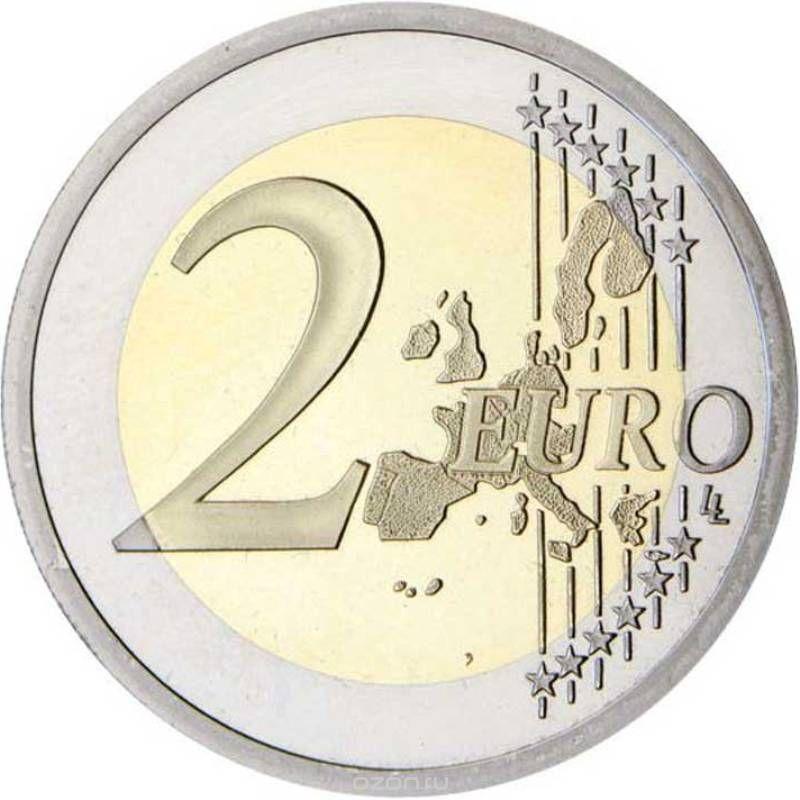2 евро. Красный крест. Бельгия. 2014 год. В буклете