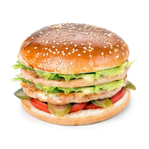 Двойной (Double) бургер с курицей