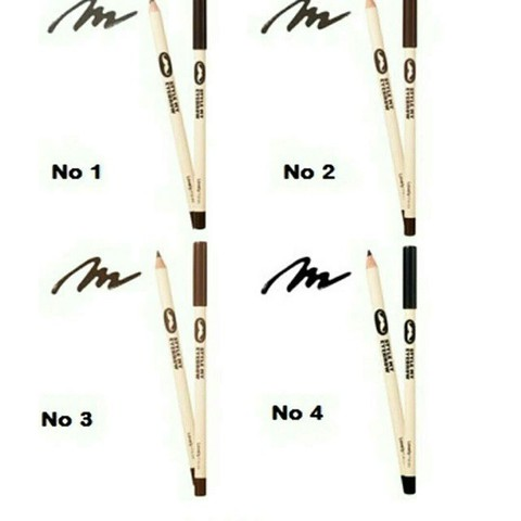 Lovely Meex Style My Eyebrow0 2 Black Brown (wood)