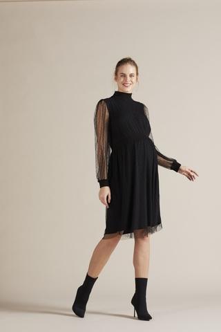 Платье для беременных 09804 черный