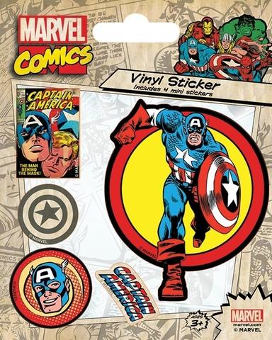 Набор стикеров Captain America