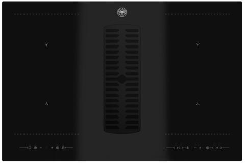 Индукционная варочная панель со встроенной вытяжкой Bertazzoni P784ICHNE