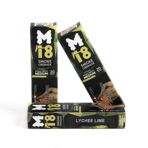 Табак M18 Medium Lychee Lime (Личи лайм) 20 г
