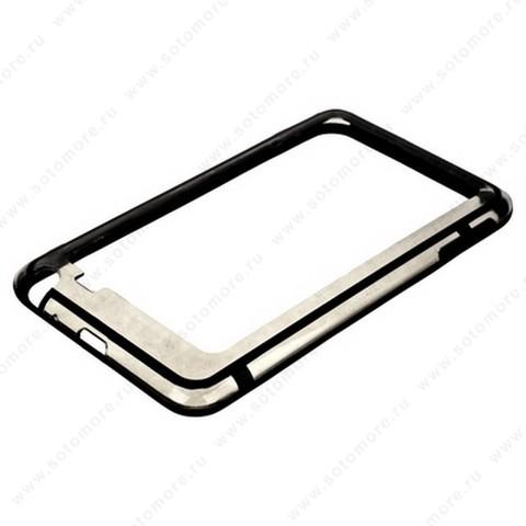 Бампер VSER для Samsung Galaxy Note N7000 черный