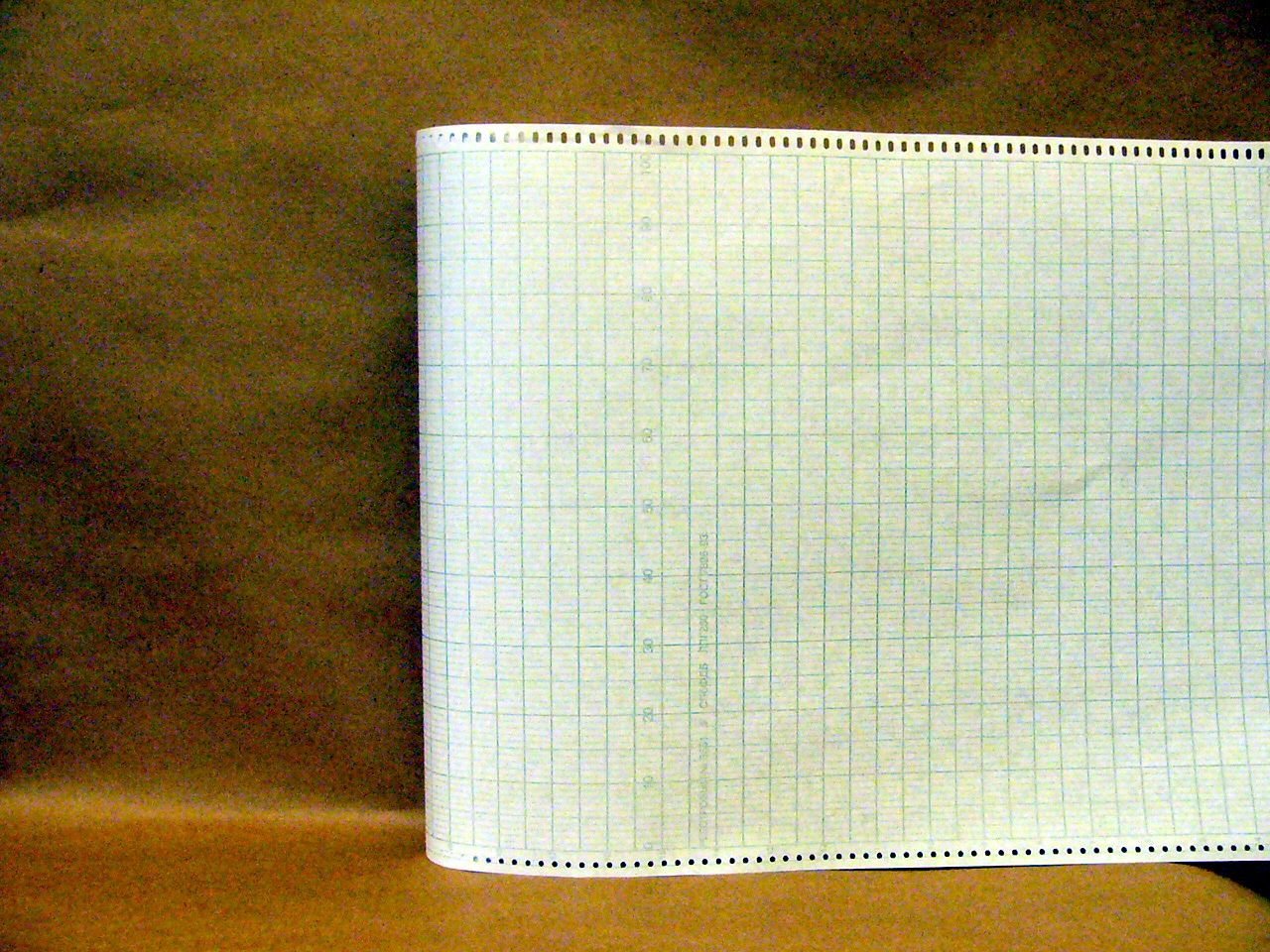 Диаграммная рулонная лента, реестровый № 3561 (37,03 руб/кв.м)