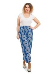 P119-15 брюки женские, синие