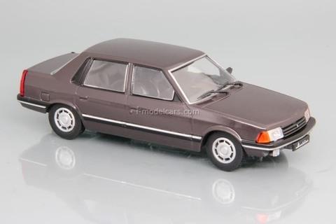 Moskvich-2142 brown 1990-1996 1:43 DeAgostini Auto Legends USSR #240