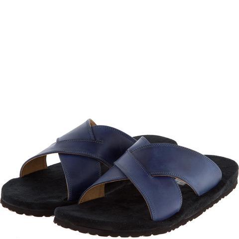 577157 сабо мужские синие. КупиРазмер — обувь больших размеров марки Делфино