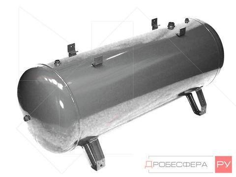 Ресивер для компрессора РГ 250/10 оцинкованный горизонтальный