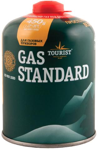 Газовый баллон резьбовой GAS STANDARD, 450 г, TBR-450