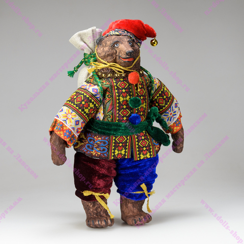 Медведь с мешком
