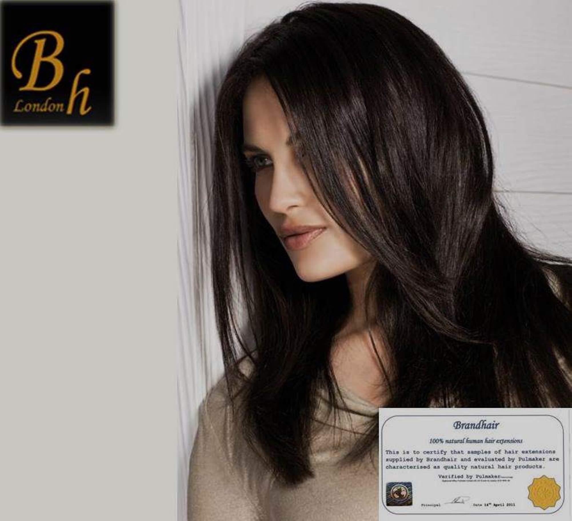 Набор long #1B-цвет с коричневым отливом 60 см-Вес набора 140 грамм