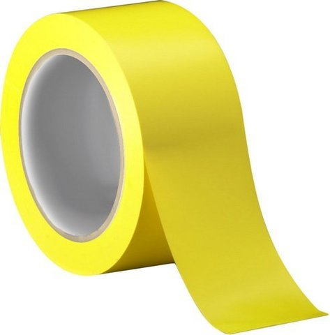 Скотч цветной (желтый) 150м.