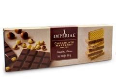 Вафли с шоколадным кремом и вкусом лесного ореха