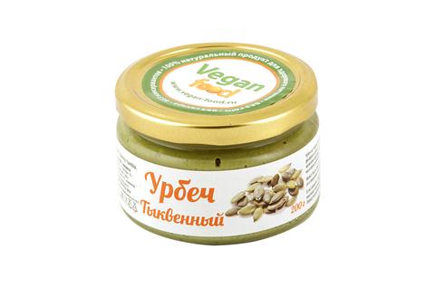 Урбеч из семян тыквы Vegan Food, 200 гр