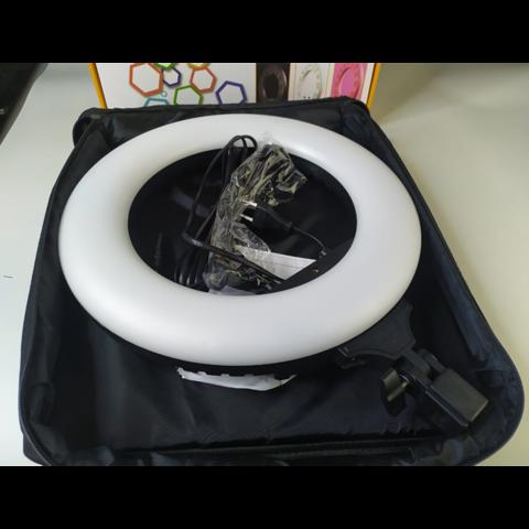 Кольцевой светодиодный осветитель Fotokvant LED-360 RING  DAN-3941