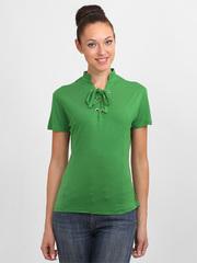 3388 футболка женская, зеленая